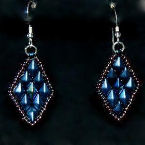 Diamond Duo Earrngs